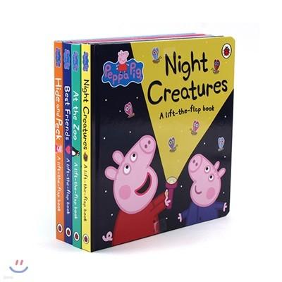 페파 피그 플랩 보드북 원서 4종 세트 : Peppa Pig A lift-the-flap book Collection