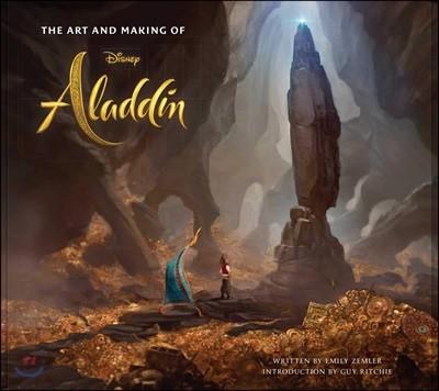 The Art and Making of Aladdin : 디즈니 실사영화 알라딘 메이킹 & 컨셉 아트북 (미국판)