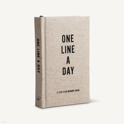 Canvas One Line a Day : A Five-Year Memory Journal