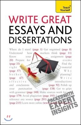 Write Great Essays and Dissertations