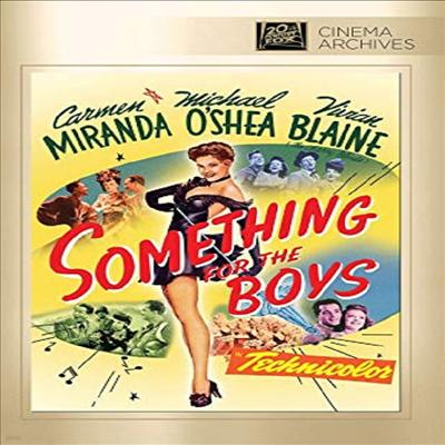 Something For The Boys (썸딩 포 더 보이즈)(지역코드1)(한글무자막)(DVD)