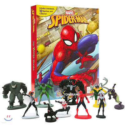 Marvel Spider-Man (2018) My Busy Books 마블 스파이더맨 2018 비지북 (피규어 10개)