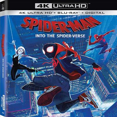 Spider-Man: Into The Spider-Verse (스파이더맨: 뉴 유니버스) (2018) (한글무자막)(4K Ultra HD + Blu-ray + Digital)
