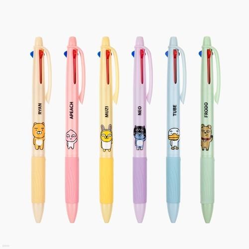 카카오프렌즈 3색 볼펜