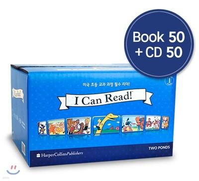 [I Can Read] 아이캔리드 1단계 Audio Full Set (책 50종+Audio CD 50종+단어·해설집)