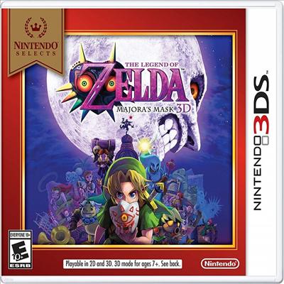 무쥬라의 가면 3D (The Legend of Zelda: Majora's Mask 3D) (Nintendo Selects Edition)(Nintendo 3DS)(영문반)