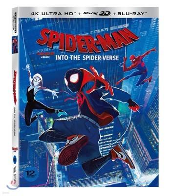 스파이더맨 : 뉴 유니버스 슬립케이스 한정판 (3Disc 4K UHD+3D+2D) : 블루레이