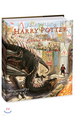 Harry Potter and the Goblet of Fire : Illustrated Edition (영국판)