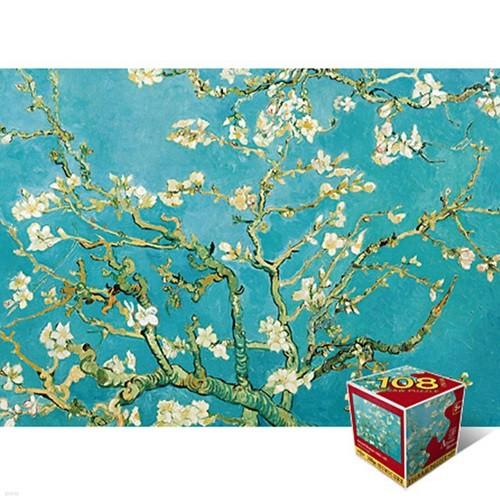 꽃이 핀 아몬드 나무 [108피스/직소퍼즐/PL108-52]