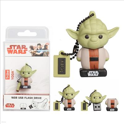 Tribe - (트라이브)Tribe Fd030510 Star Wars 8 Yoda 16 Gb Usb Drive (스타워즈)(요다)