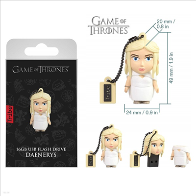Tribe - (트라이브)Tribe Fd032503 Game of Thrones Daenerys 16gb Usb Flash Drive (왕좌의게임)(대너리스)