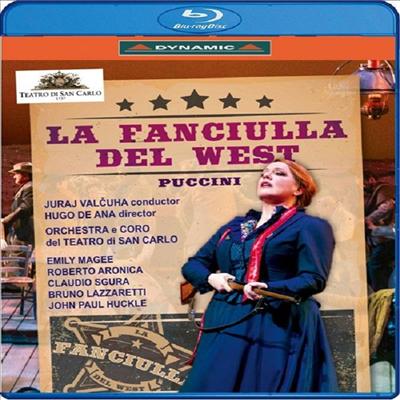 푸치니: 오페라 '서부의 아가씨' (Puccini: Opera 'La Fanciulla del West') (한글자막)(Blu-ray) (2018) - Juraj Valcuha