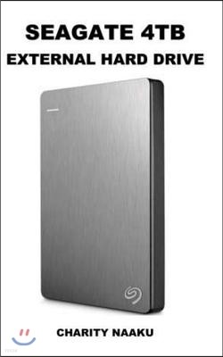 Seagate 4tb External Hard Drive: Passport Ultra 4tb Portable External USB 3.0 Hard Drive.