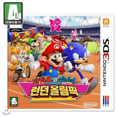 [3DS]마리오와 소닉 런던 올림픽 / 6월21일출고