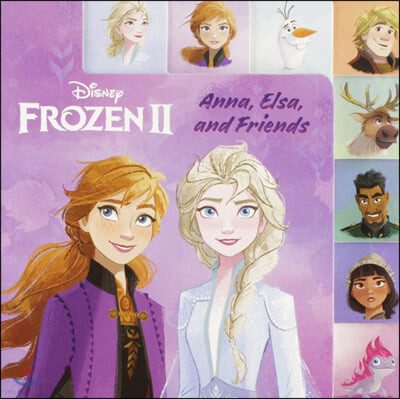 Frozen 2 Tabbed Board Book