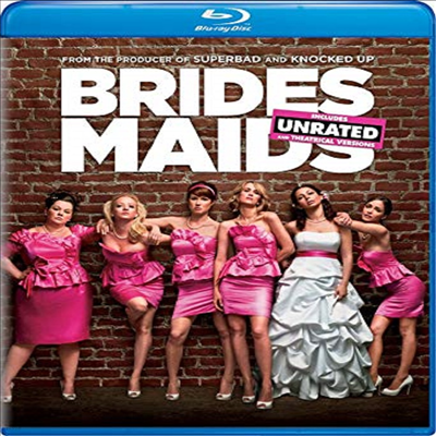 Bridesmaids (내 여자친구의 결혼식) (Unrated)(한글무자막)(Blu-ray)