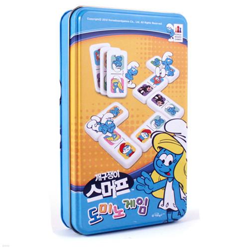 [코리아보드게임즈] 도미노게임 스머프 Domino Game Smurf