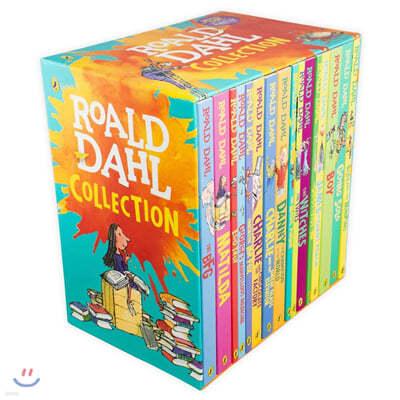 로알드달 베스트 16종 박스 세트 (영국판) : Roald Dahl Collection Gift Set (개정판)