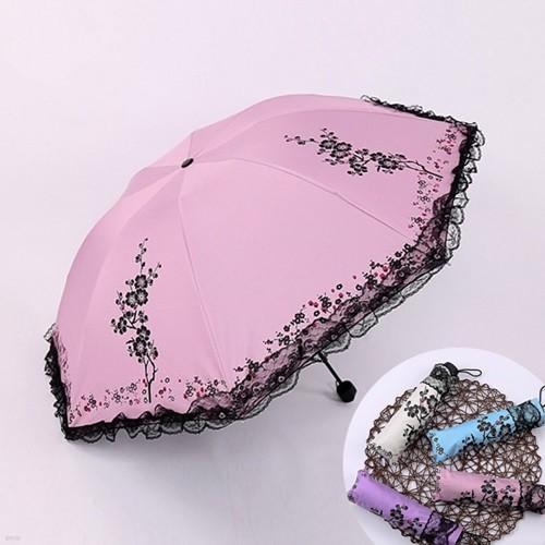 톡시 레이스 양우산 자외선차단 암막양산 패션양산