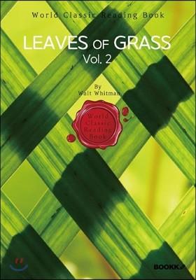 풀잎, 2부 (월트 휘트먼) : Leaves of Grass, Vol. 2 (영문판)