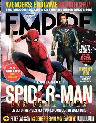 Empire (월간) : 2019년 06월30일 Summer : 스파이더맨 파 프롬 홈 커버