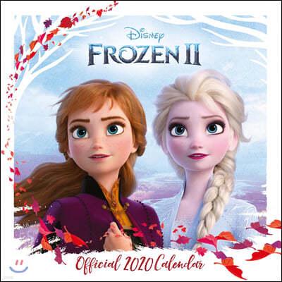 Disney Frozen 2 2020 Calendar - Official Square Wall Format