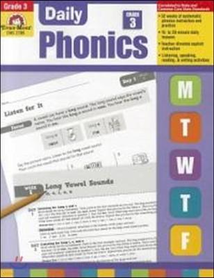 Daily Phonics Grade 3 : Teacher's Edition