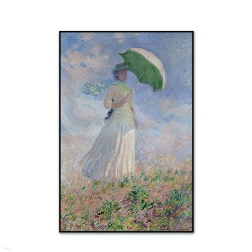 [The Bella] 모네 - 오른쪽에서 본 양산을 든 여인 Woman with a Parasol Facing Right