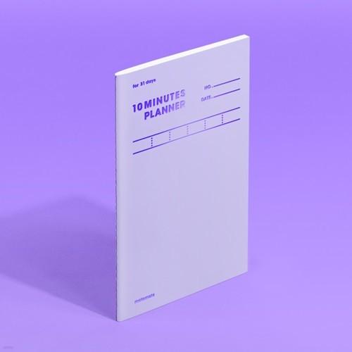 [모트모트] 텐미닛 플래너 31DAYS 컬러칩 - 바이올렛