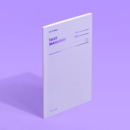 [모트모트] 태스크 매니저 31DAYS 컬러칩 - 바이올렛