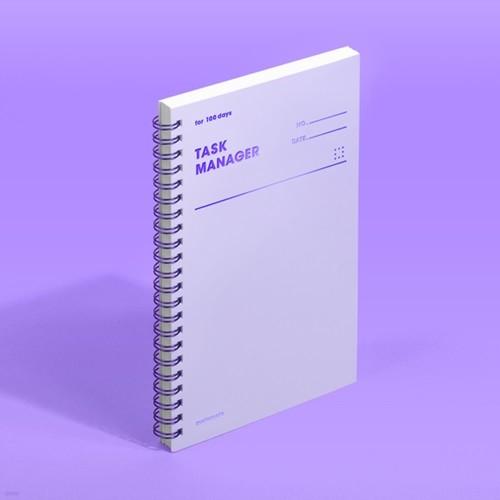 [모트모트] 태스크 매니저 100DAYS 컬러칩 - 바이올렛