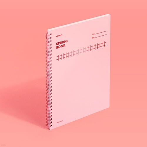 [모트모트] 스프링북 컬러칩 - 로즈쿼츠 (스퀘어드)
