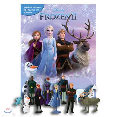 Disney Frozen 2 My Busy Book 디즈니 비지북 겨울왕국 2 피규어 책