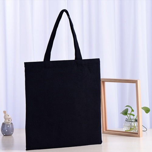 기획 (무지) 캔버스백 에코백 [블랙]_ 32*35cm