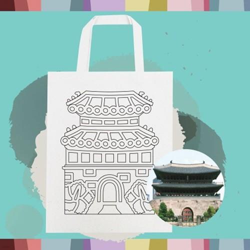 전통의 재구성 에코백 (숭례문)