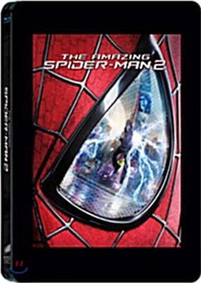 어메이징 스파이더맨 2 (3D+2D 스틸북 한정판 2Disc) : 블루레이