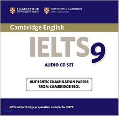 Cambridge IELTS 9 Audio CDs (2)