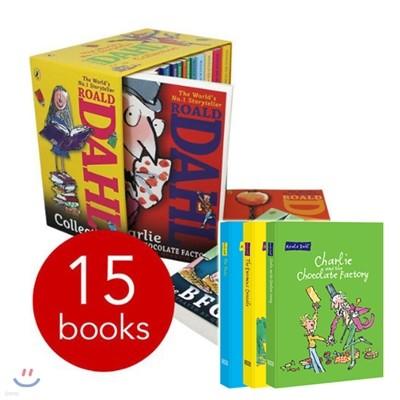 Roald Dahl 15종 Collection + 로알드 달 양장본 노트 1종 (랜덤 발송)