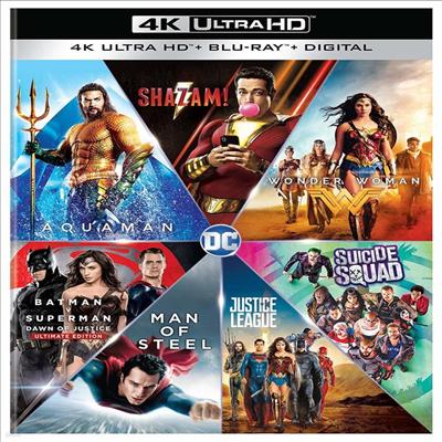 DC 7 Film Collection (DC 7 필름 컬렉션) (한글무자막)(4K Ultra HD + Blu-ray + Digital)