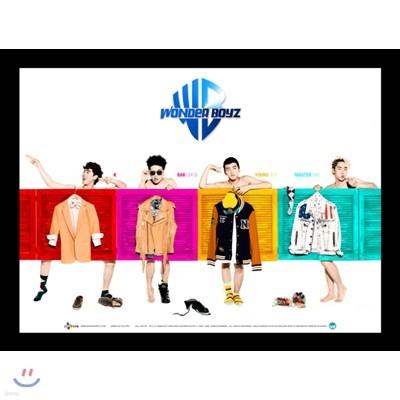원더보이즈 (Wonder Boyz) - 미니앨범 1집 : 문을 여시오