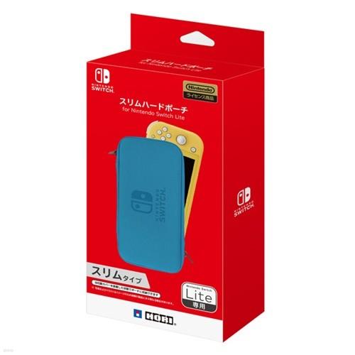 [스위치 주변기기]호리 슬림 하드 파우치 for 닌텐도 스위치 Lite 블루