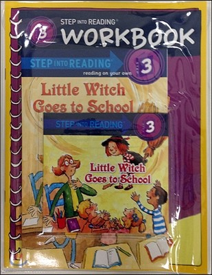 Step into Reading 3 : Little Witch Goes to School (Book+CD+Workbook)