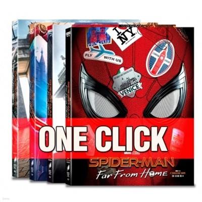 스파이더맨 파프롬홈 oneclick steelbook 4가지 버전 한정판 모음.