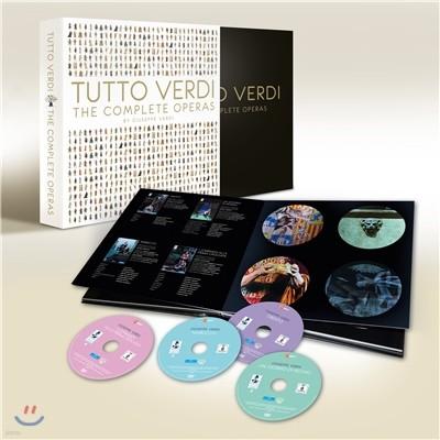 베르디 탄생 200주년 기념 블루레이 박스세트 (Tutto Verdi Complete Operas) [27 Blu-rays)