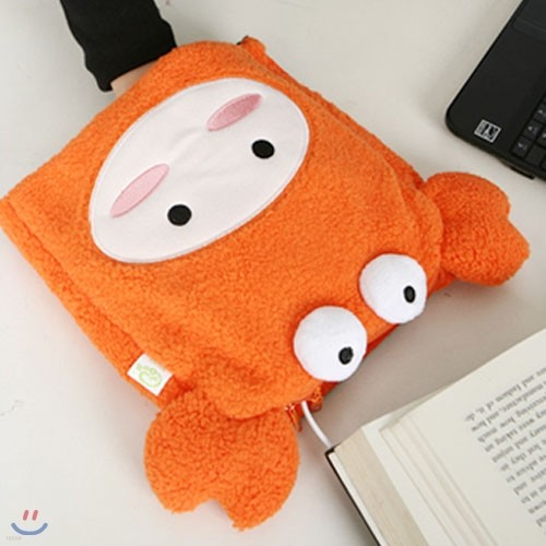 USB 에니멀 온열 마우스패드- 꽃게