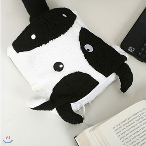 USB 에니멀 온열 마우스패드- 젖소