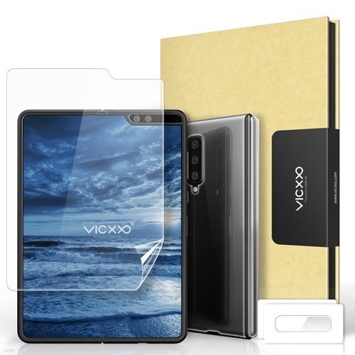 빅쏘 갤럭시폴드 5G 풀커버 3DS 내부 외부 힌지 액정보호필름 카메라 강화유리 2세트