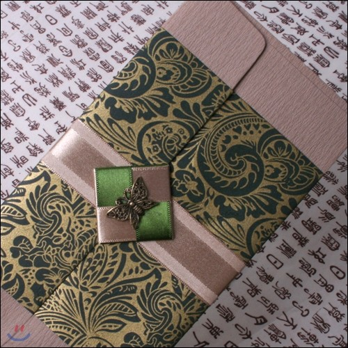 폐백봉투4호녹색(현금봉투,상품권봉투)새해에 감사함을 담아보세요