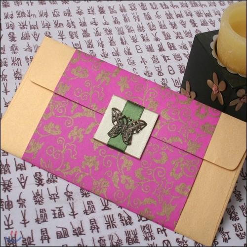 예단봉투[진핑크]/현금봉투,상품권봉투<새해에 감사함을 담아보세요>