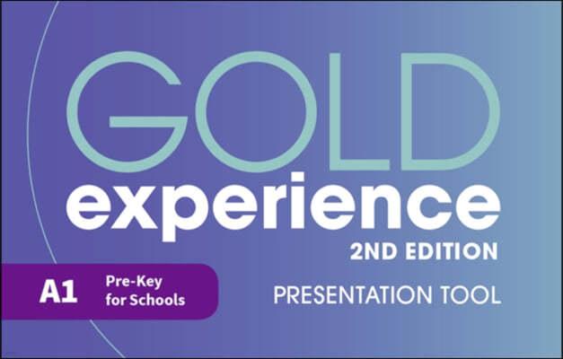 Gold Experience 2nd Edition A1 Teacher's Presentation Tool USB